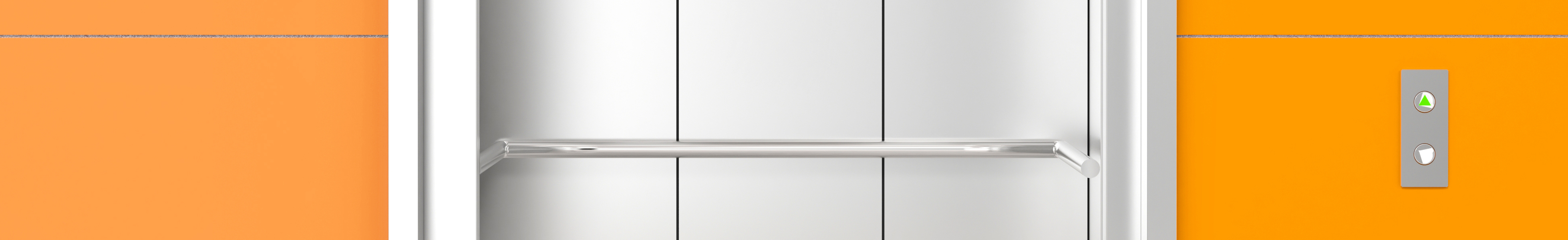 Cropped Modern Elevator